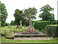 TM1485 : The war memorial on Burston Road by Evelyn Simak
