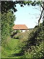 TG3006 : Path to Bramerton Road by Evelyn Simak