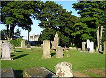 NJ2265 : Spynie Cemetery by Ann Harrison