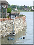SU8003 : Bosham Harbour - High Tide by Peter Trimming