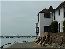 SU8003 : Bosham Harbour From Shore Road by Peter Trimming