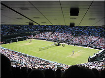 TQ2472 : Wimbledon Centre Court by Rod Allday