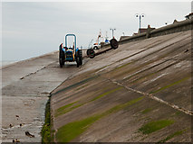 NZ6025 : Slipway, Redcar seafront by Stephen McCulloch