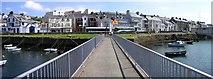C8540 : Footbridge, Portrush by Kenneth  Allen