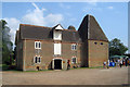 TR2460 : Oast House at Preston Court Farm, Preston, Kent by Oast House Archive