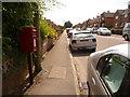 ST8907 : Blandford Forum: postbox № DT11 174, Elizabeth Road by Chris Downer
