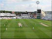 SK5838 : Trent Bridge Cricket Ground - new developments, 2008 by John Sutton