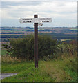 TA0015 : Signpost near Bonby by David Wright
