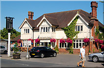 SZ3394 : The Mayflower public house by Andy F