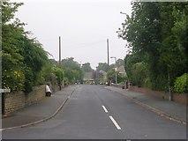 SE1421 : Long Fallas Crescent - Woodhouse Lane by Betty Longbottom