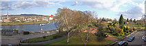 NS3975 : Panorama River Leven & Levengrove Park by Dutyhog