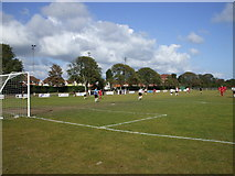 TQ6200 : The Oval, Princes Park - Eastbourne United Football Club by nick macneill