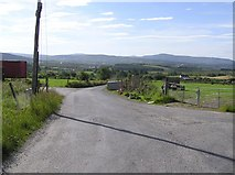C3537 : Road at Laganaber by Kenneth  Allen