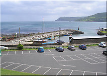 D2818 : Carnlough Harbour, from Largy Road, Carnlough, Co. Antrim by Dr Neil Clifton