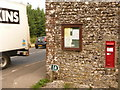 SY6394 : Grimstone: postbox № DT2 13 by Chris Downer