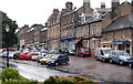 NU0501 : Looking west along High Street, Rothbury by Andy F