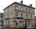 NU0501 : Looking northeast at the Railway Hotel, Bridge Street, Rothbury by Andy F