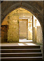 NZ0878 : Interior of Belsay Castle by Andy F