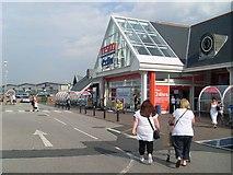 SD3433 : Tesco Extra, Blackpool by Stephen Sweeney
