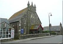 SX0588 : The Methodist Church, Tintagel by Humphrey Bolton