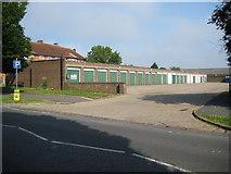 TQ1193 : South Oxhey: Garage block off Oxhey Drive by Nigel Cox