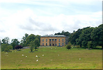 NZ0878 : Belsay Hall from the east by Andy F