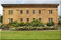 NZ0878 : South facade of Belsay Hall by Andy F