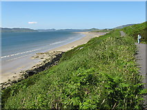 C3332 : Porthaw Beach and coastal path, Co.Donegal by Dr Neil Clifton