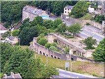 SE0724 : Wainhouse Terrace from the balcony of Wainhouse Tower by Michael Steele