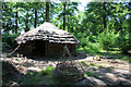 TM1550 : 'Iron Age' roundhouse in Rede Wood by Bob Jones
