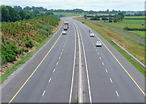 N5544 : N6 towards Dublin, near Kinnegad, Co. Westmeath by Dylan Moore