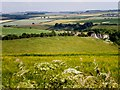 SE8763 : Wolds view by Dr Patty McAlpin