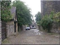 SE0824 : Back Elmfield Terrace - Elmfield Terrace by Betty Longbottom
