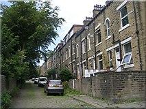 SE0824 : St Jude's Street - Moorlands View by Betty Longbottom