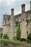 TQ4745 : Castle Walls, Hever, Kent by Peter Trimming