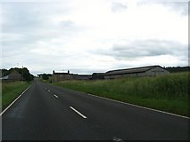NY8693 : The A68, heading south on the old Roman route, near Dargues by James Denham