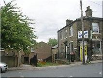 SE1527 : School Place - Huddersfield Road by Betty Longbottom