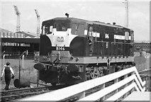 J3272 : Shunting at Adelaide, Belfast (1973) by Albert Bridge