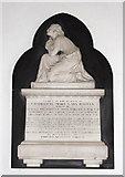 TM1994 : St Mary's church - memorial by Evelyn Simak