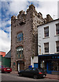X1078 : Castles of Munster: Tynte's Castle, Youghal, Cork by Mike Searle