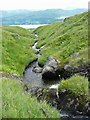 NN6239 : Looking down the Allt Coire a' Chonnaidh by Gordon Brown