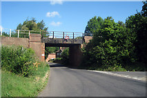 TR0650 : Railway Bridge over The Street by Oast House Archive