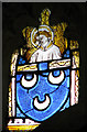 TM0691 : All Saints Church - medieval glass by Evelyn Simak