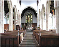 TM0890 : St Martin's Church - view east by Evelyn Simak