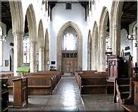 TM0890 : St Martin's Church - view west by Evelyn Simak