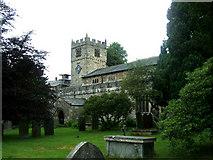 SD6592 : St Andrew's Church, Sedburgh by Bill Henderson