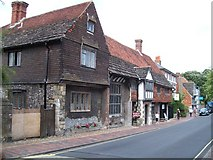 TQ4109 : Anne of Cleves house at Lewes by Raymond Knapman