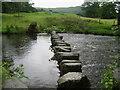 NY3605 : Stepping Stones, River Rothay by Chris Heaton