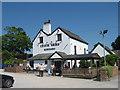SJ6076 : The Leigh Arms, Acton Bridge by Sue Adair