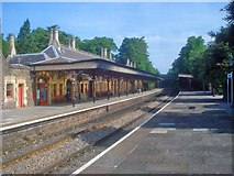SO7845 : Great Malvern Station by Trevor Rickard
